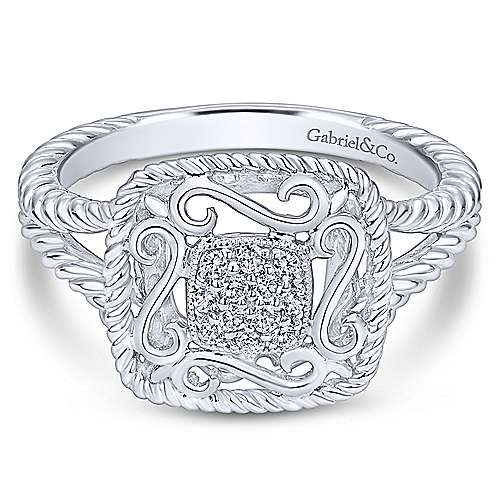 Gabriel - 925 Silver Hampton Fashion Ladies' Ring