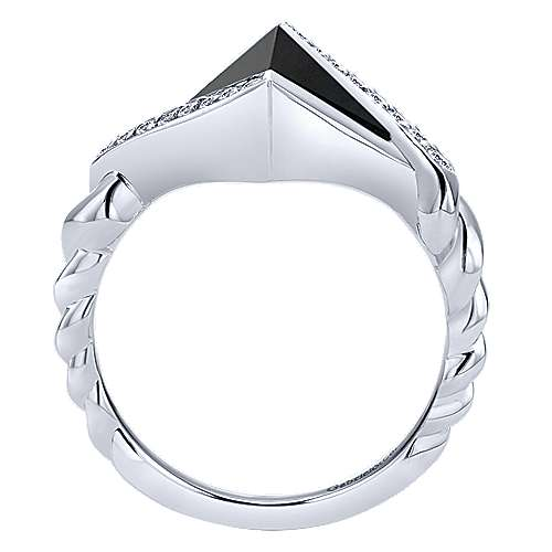 925 Silver Hampton Fashion Ladies' Ring angle 2