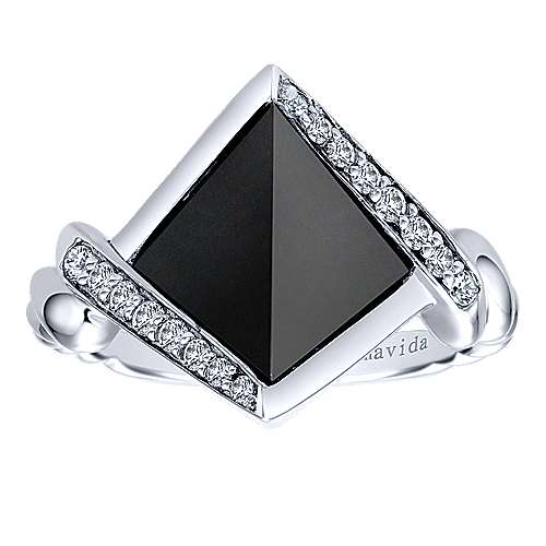 925 Silver Hampton Fashion Ladies' Ring angle 4