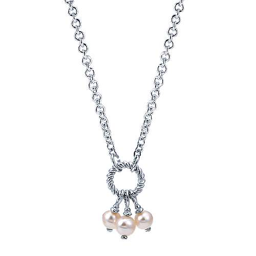 Gabriel - 925 Silver Hampton Fashion Necklace