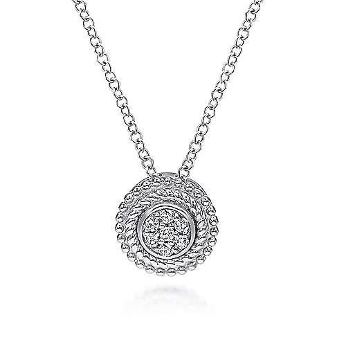 925 Silver Hampton Fashion Necklace