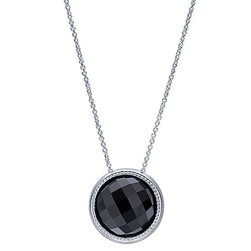 925 Silver Hampton Fashion Necklace angle 1