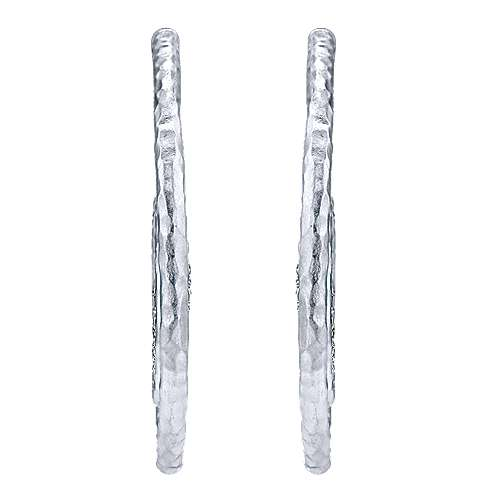 925 Silver Jubilee Drop Earrings angle 1
