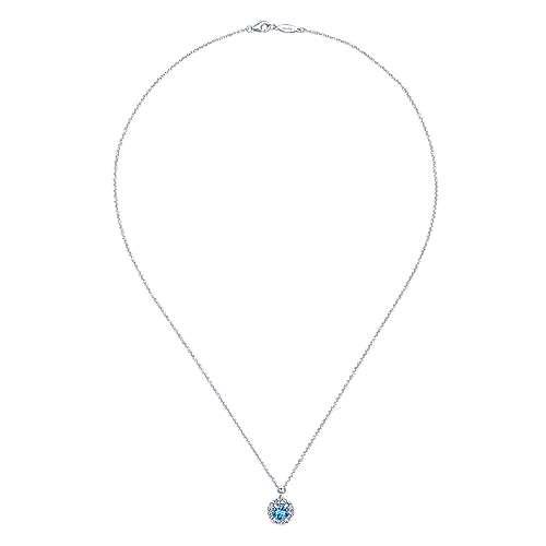 925 Silver MC Necklace         angle 2