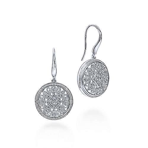 Gabriel - 925 Silver Madison Drop Earrings