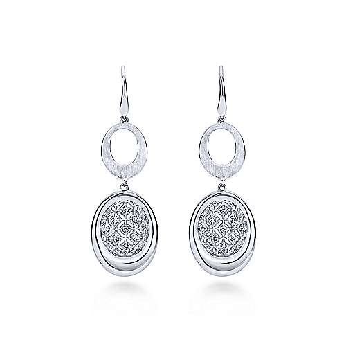 Gabriel - 925 Silver Madison Drop Earrings