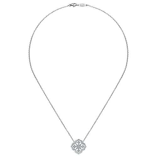 925 Silver Madison Fashion Necklace angle 2