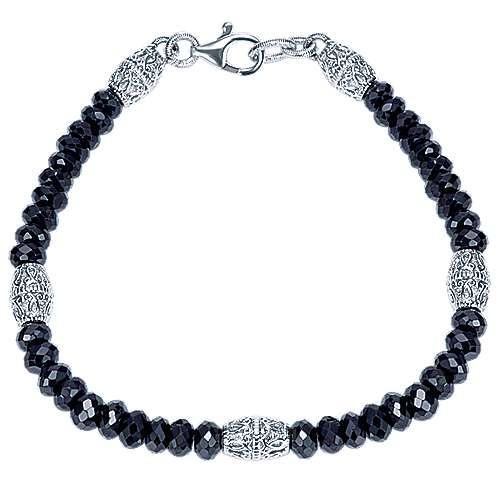 Gabriel - 925 Silver Mediterranean Beads Bracelet