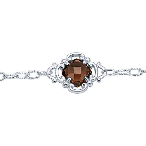 925 Silver Mediterranean Chain Bracelet angle 2