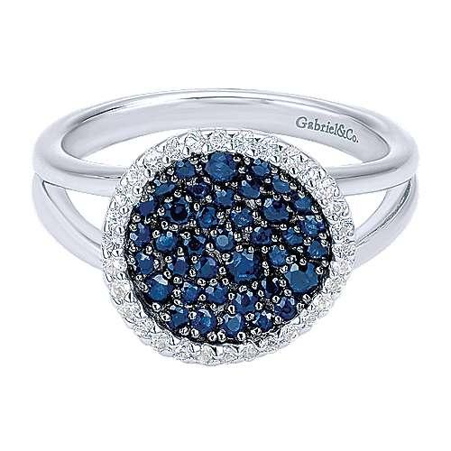 Gabriel - 925 Silver Silk Fashion Ladies' Ring