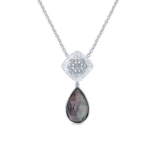 Gabriel - 925 Silver Madison Fashion Necklace