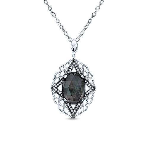 Gabriel - 925 Silver Madison Fashion Necklace