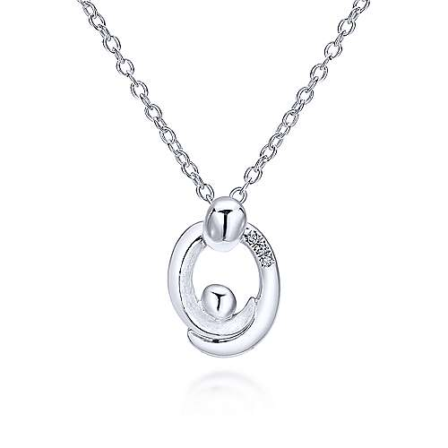 Gabriel - 925 Silver Nursery Rhymes Fashion Necklace