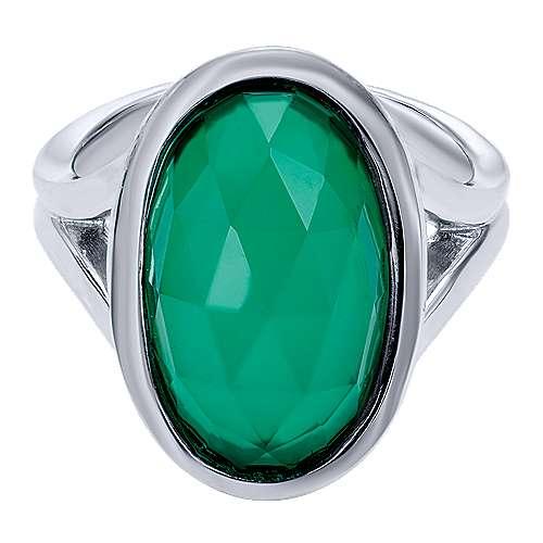 Gabriel - 925 Silver Contemporary Fashion Ladies' Ring