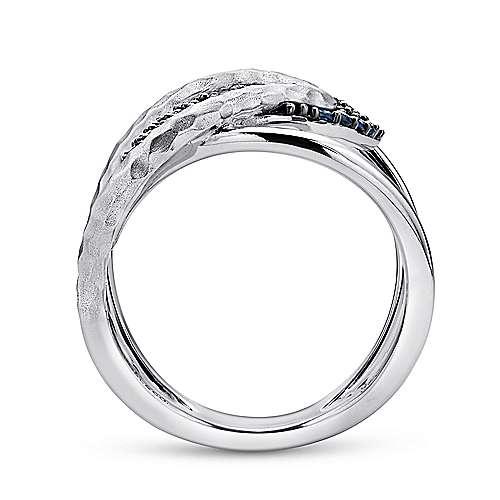 925 Silver Sapp Ring angle 2