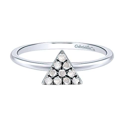 Gabriel - 925 Silver Shadow Play Fashion Ladies' Ring