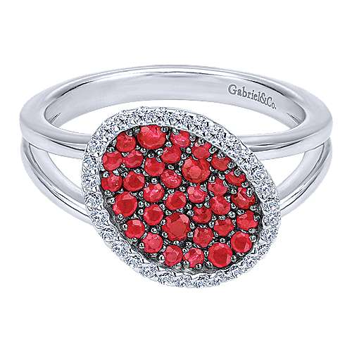 Gabriel - 925 Silver Silk Fashion Ladies' Ring