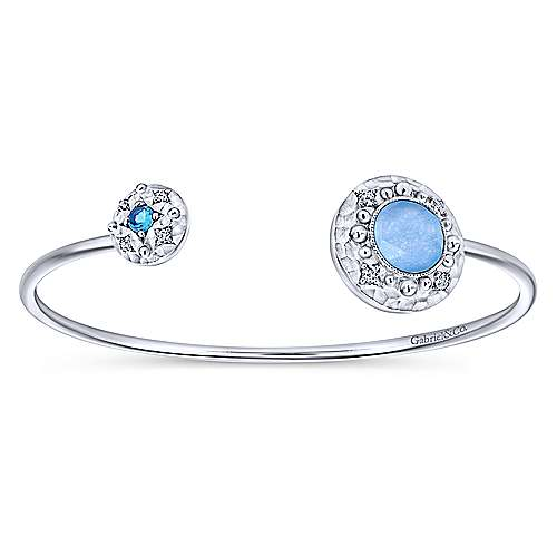 Gabriel - 925 Silver Souviens Bangle