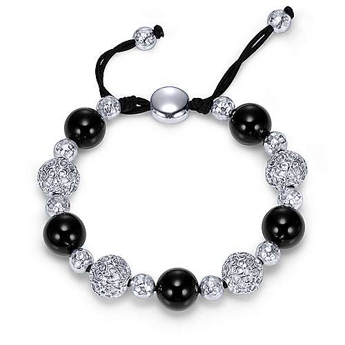 Gabriel - 925 Silver Souviens Beads Bracelet