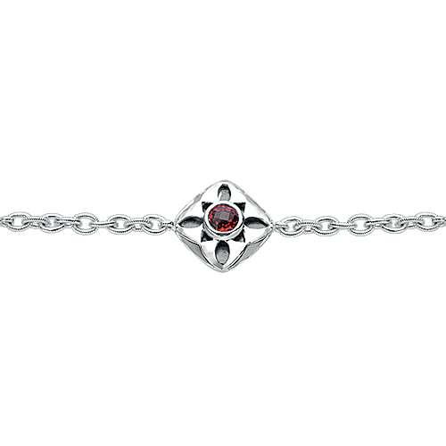 925 Silver Souviens Chain Bracelet angle 2