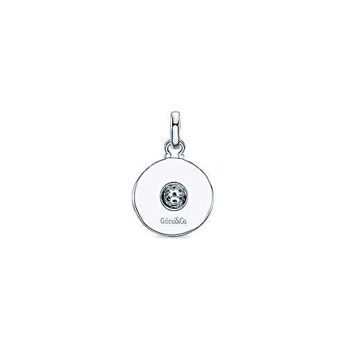 925 Silver Souviens Charm Pendant angle 2