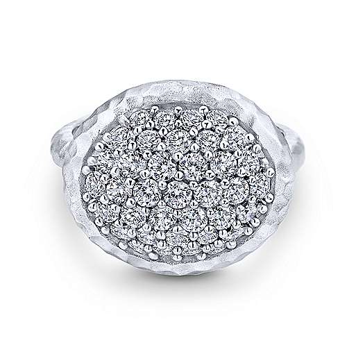 925 Silver Souviens Fashion Ladies' Ring angle 1