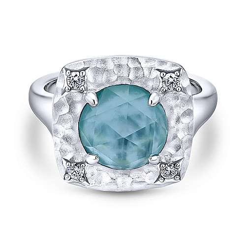 Gabriel - 925 Silver Souviens Fashion Ladies' Ring