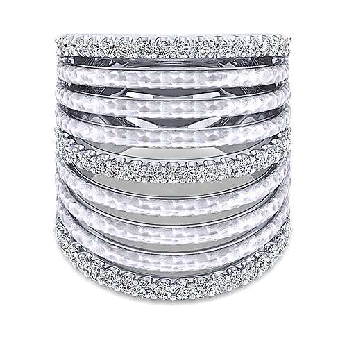 925 Silver Souviens Fashion Ladies' Ring angle 1