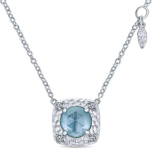 925 Silver Souviens Fashion Necklace angle 1