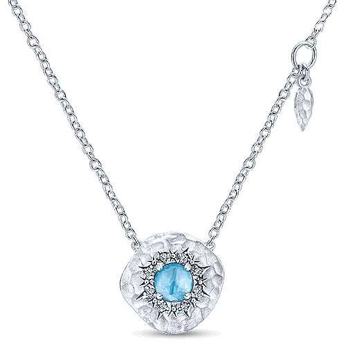 Gabriel - 925 Silver Souviens Fashion Necklace