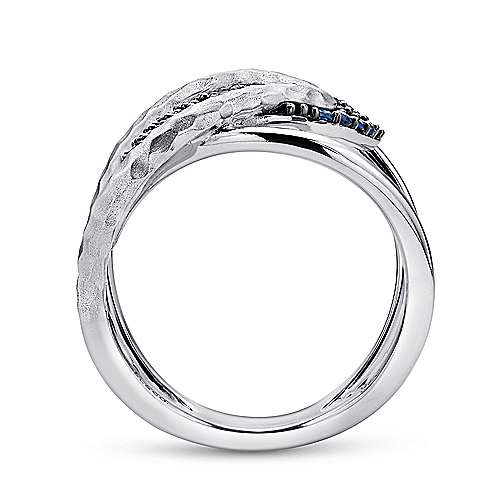 925 Silver Souviens Wide Band Ladies