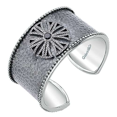 925 Silver Souviens Wide Cuff Bangle