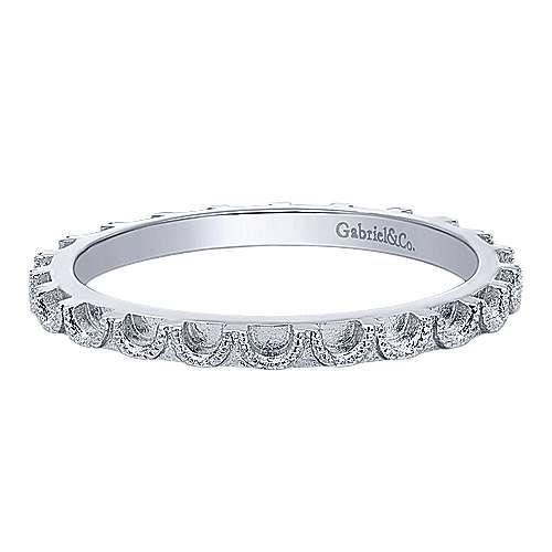 Gabriel - 925 Silver Stackable Ladies' Ring