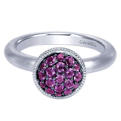Gabriel - 925 Silver Stackable Ladies' Ring