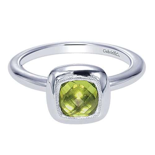 925 Silver Stackable Ladies' Ring angle 1