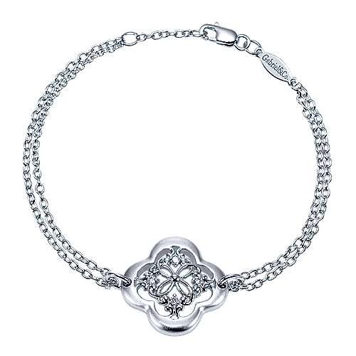 Gabriel - 925 Silver Trends Chain Bracelet