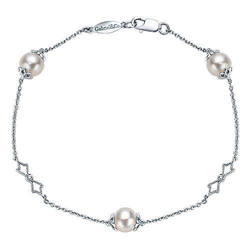 925 Silver Trends Chain Bracelet angle 1