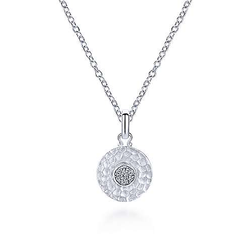 925 Silver Trends Charm Pendant angle 3