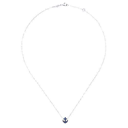 925 Silver Trends Fashion Necklace angle 2