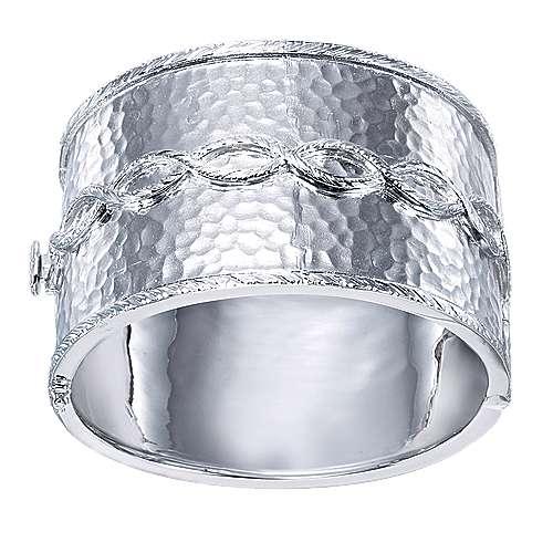 925 Silver Victorian Bangle