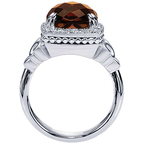 925 Silver Victorian Fashion Ladies' Ring angle 2