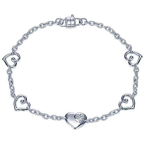 Gabriel - 925 Silver Eternal Love Chain Bracelet