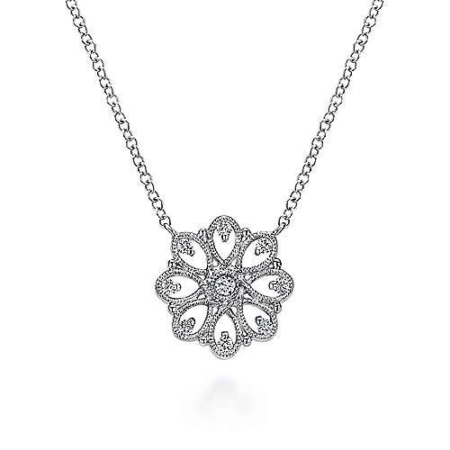 925 Silver White Sapphire Fashion