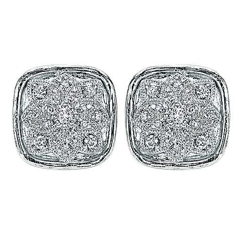 Gabriel - 925 Silver Mediterranean Stud Earrings