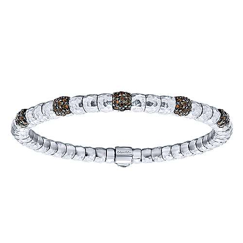Gabriel - 925 Silver/stainless Steel Souviens Bangle