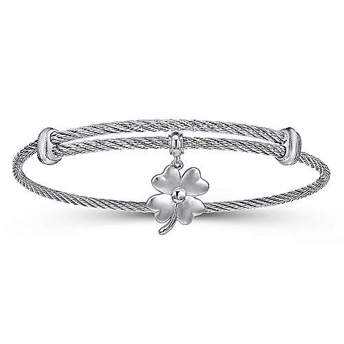 925 Silver/stainless Steel  Charm