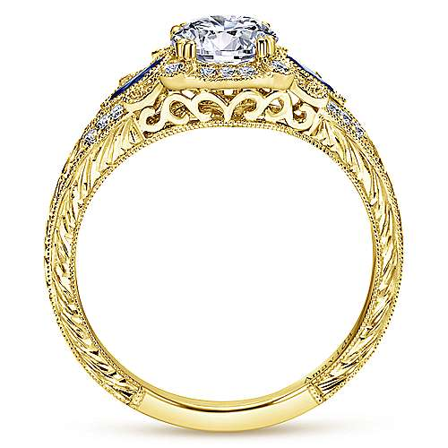 pictures of wedding rings carolina 18k yellow gold halo engagement ring 6514
