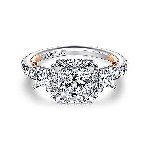 diamond white with rings amavida rose ds accented ring halo carat gold tdw engagement