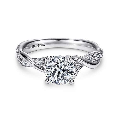 ring diamond white amavida engagement jacob gold stones rings platinum