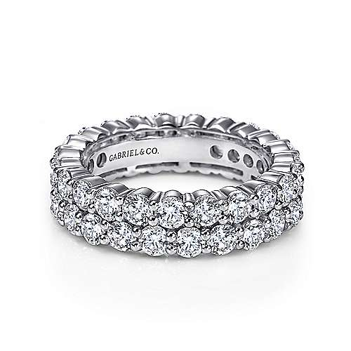 Gabriel - Platinum Contemporary Eternity Anniversary Band